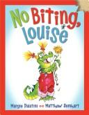 Book Cover, No Biting, Louise