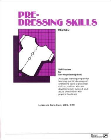 Book Cover, Pre-Dressing Skills