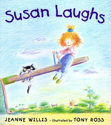 Book Cover, Susan Laughs