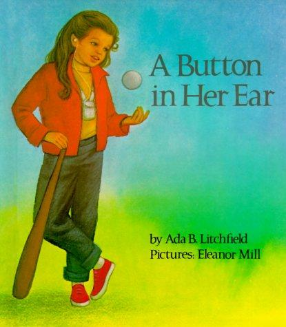 Book Cover, A Button In Her Ear