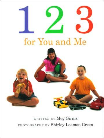 Book Cover, 123 For You And Me