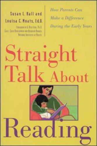 Book Cover, Straight Talk About Reading: How Parents Can Make A Difference During The Early Years