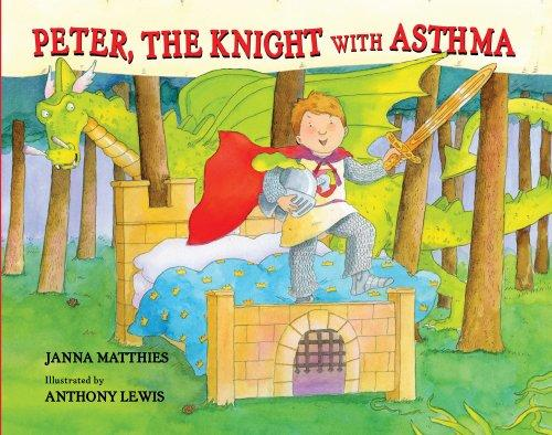 Book Cover, Peter, The Knight With Asthma