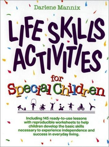 Book Cover, Life Skills Activities For Special Children