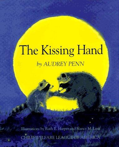 Book Cover, The Kissing Hand