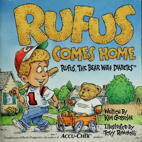 Book Cover, Rufus Comes Home, Rufus The Bear With Diabetes