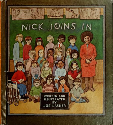Book Cover, Nick Joins In