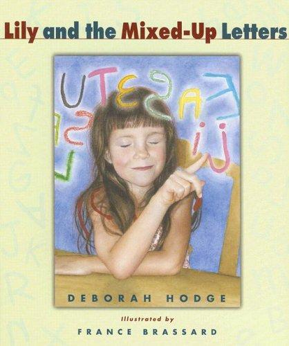 Book Cover, Lily And The Mixed-Up Letters