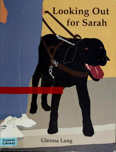 Book Cover, Looking Out For Sarah