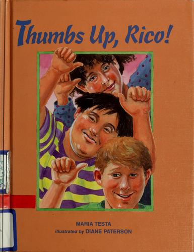 Book Cover, Thumbs Up, Rico
