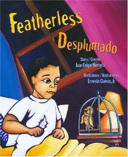 Book Cover, Featherless / Desplumado