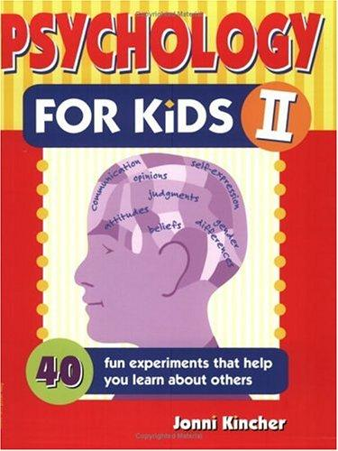 Book Cover, Psychology For Kids II