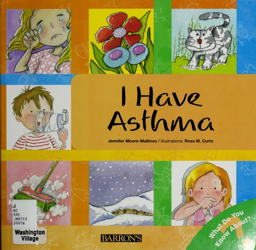 Book Cover, I Have Asthma