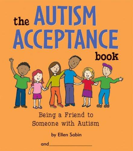 Book Cover, The Autism Acceptance Book: Being A Friend To Someone With Autism