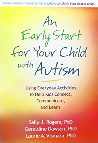 Book Cover, An Early Start For Your Child With Autism
