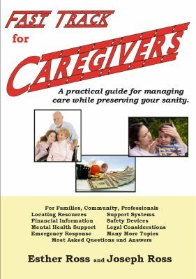Book Cover, Fast Track For Caregivers