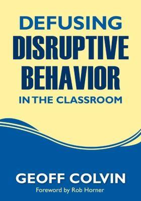 Book Cover, Defusing Disruptive Behavior In The Classroom