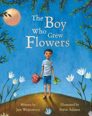 Book Cover, The Boy Who Grew Flowers