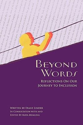Book Cover, Beyond Words: Reflections On Our Journey To Inclusion