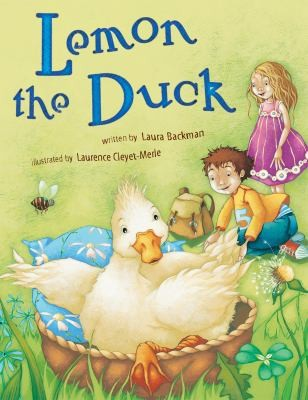 Book Cover, Lemon The Duck