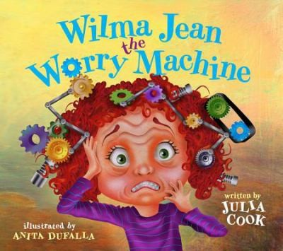 Book Cover, Wilma Jean The Worry Machine