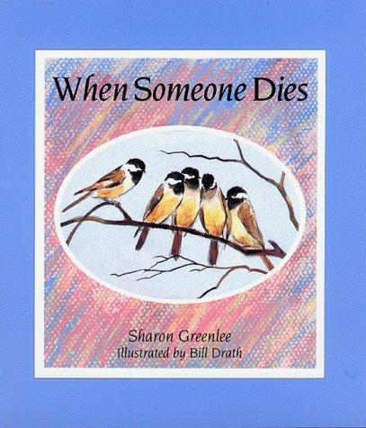 Book Cover, When Someone Dies