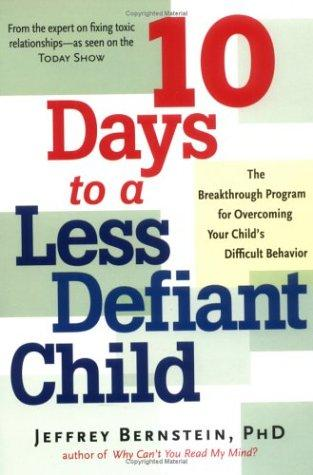 Book Cover, Understanding The Defiant Child