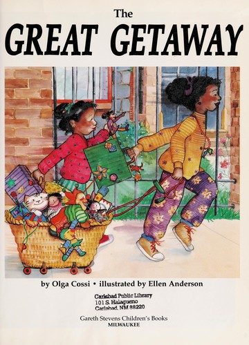 Book Cover, The Great Getaway
