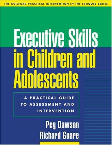 Book Cover, Executive Skills In Children And Adolescents