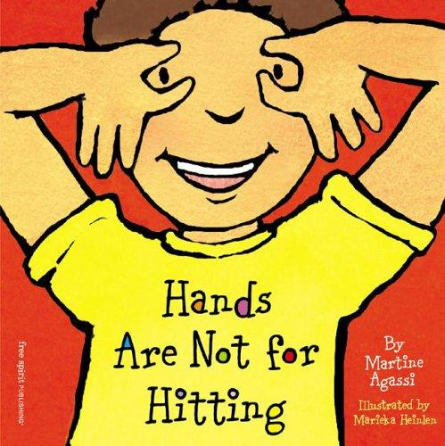 Book Cover, Hands Are Not For Hitting