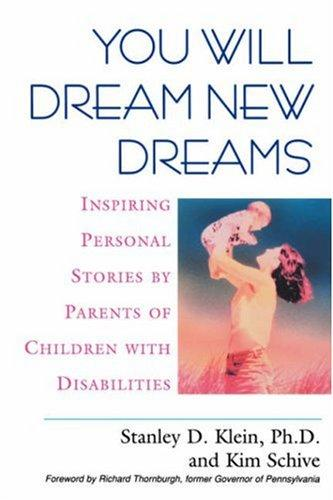Book Cover, You Will Dream New Dreams: Inspiring Personal Stories By Parents Of Children With Disabilities