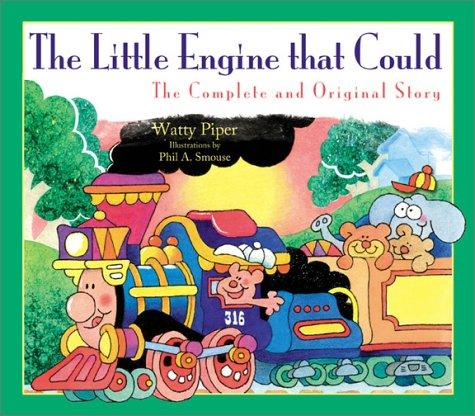 Book Cover, The Little Engine That Could