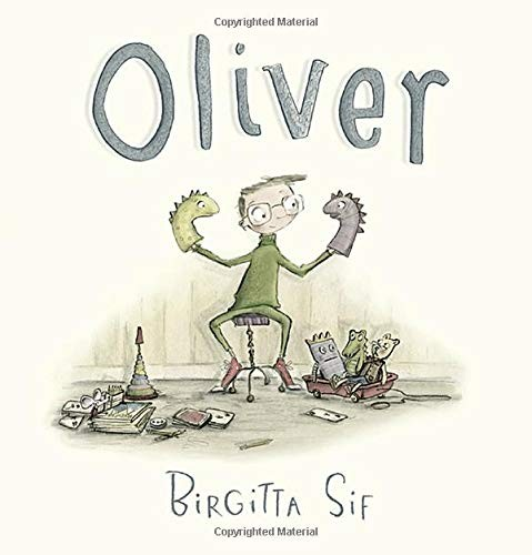 Book Cover, Oliver