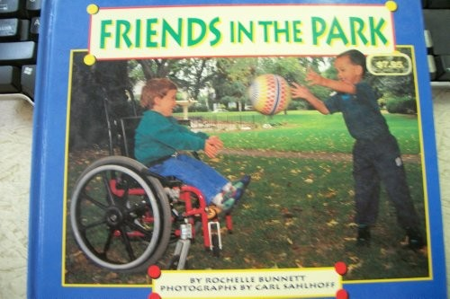 Book Cover, Friends In The Park
