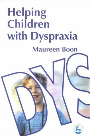 Book Cover, Helping Children With Dyspraxia