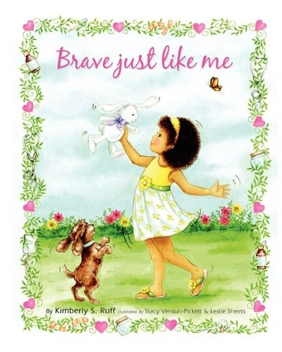 Book Cover, Brave Just Like Me