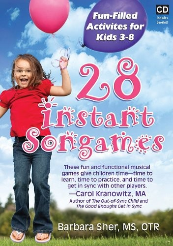 Book Cover, 28 Instant Songames: Fun-Filled Activities For Kids 3-8