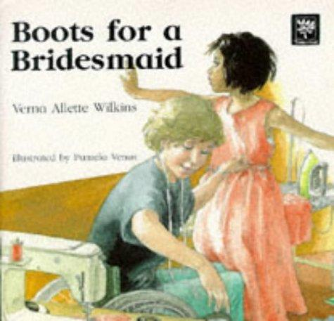 Book Cover, Boots For A Bridesmaid