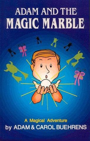 Book Cover, Adam And The Magic Marble