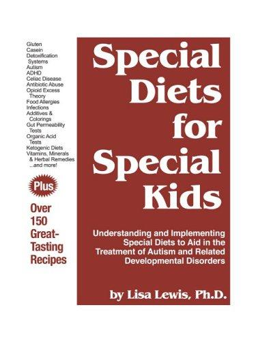 Book Cover, Special Diets For Special Kids