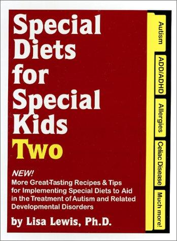 Book Cover, Special Diets For Special Kids Two