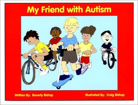 Book Cover, My Friend With Autism