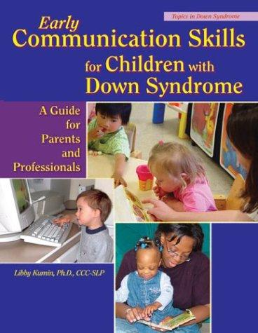 Book Cover, Early Communication Skills For Children With Down Syndrome