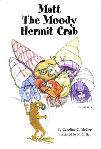 Book Cover, Matt The Moody Hermit Crab