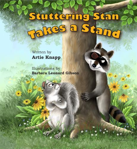 Book Cover, Stuttering Stan Takes A Stand