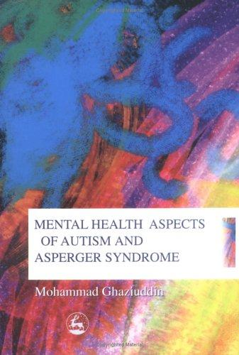 Book Cover, Mental Health Aspects of Autism and Asperger Syndrome