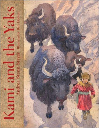 Book Cover, Kami and the Yaks