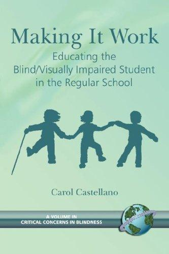 Book Cover, Making It Work: Educating the Blind/Visually Impaired Student in the Regular School