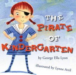 Book Cover, The Pirate of Kindergarten