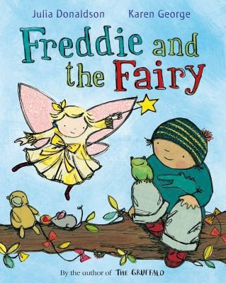 Book Cover, Freddie and the Fairy